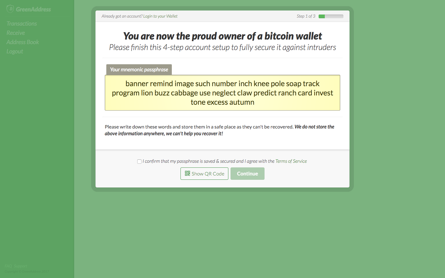 Why You Should Avoid GreenAddress Bitcoin Wallet